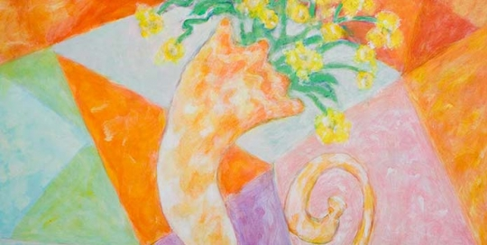 """Cornucopia of Flowers"""