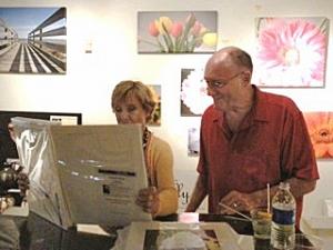 Cloris Leachman with Malcolm Doran