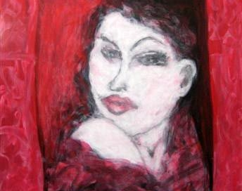 """""""Woman in Red"""""""