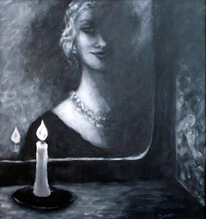 """Woman with Candle"""